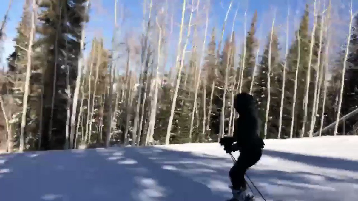 Utah ski trip with the fam ⛷❄️☃️. ???? @yourboyfai  The full video will be up on my app soon! https://t.co/WXR5fCPIR5
