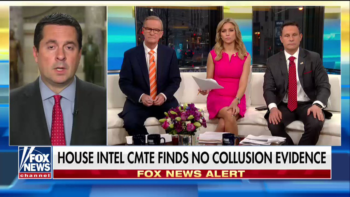 """.@DevinNunes: """"We did find clear links between the Russians and the Hillary Clinton campaign."""" https://t.co/LnTQiT60H6"""