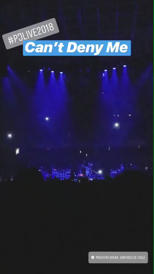 For the first time live... CAN'T DENY ME.  https://t.co/eaXJHMjaic #CantDenyMe #PJLive2018 https://t.co/YJUIX7qbkg