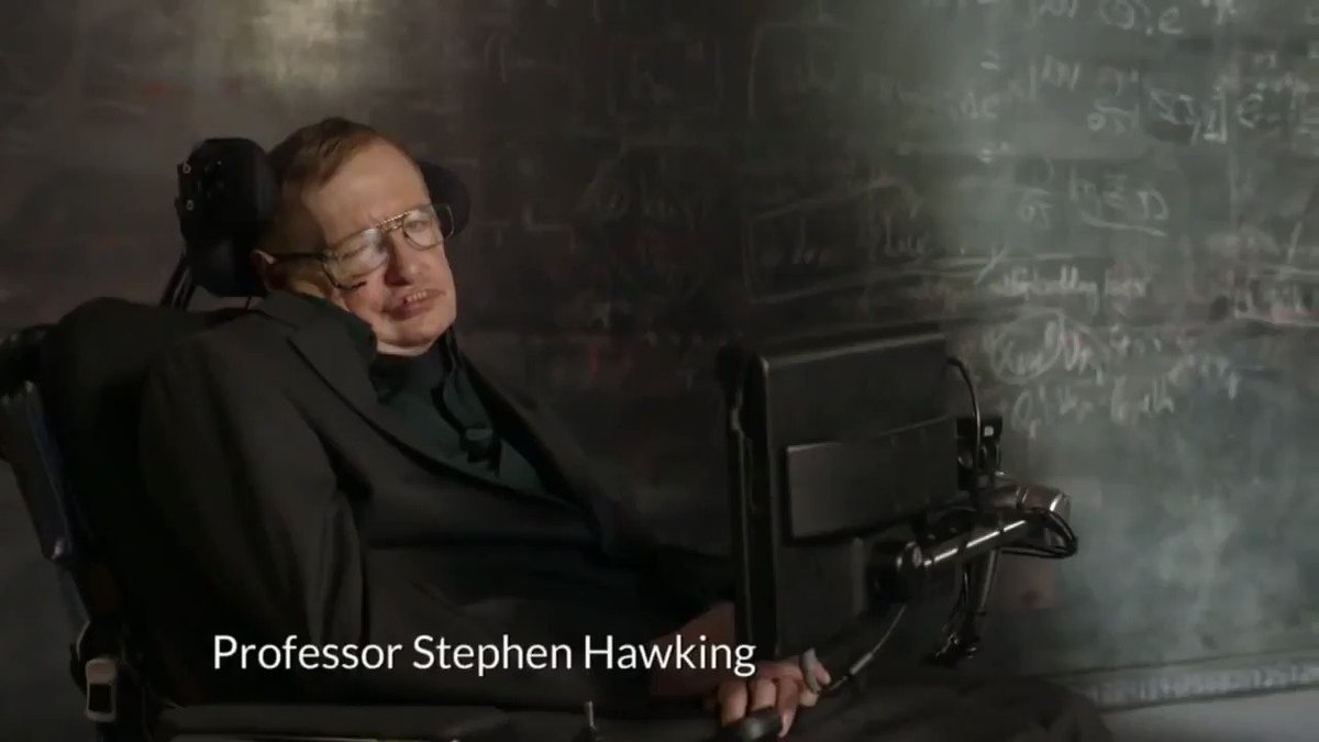 Remembering Stephen Hawking, a renowned physicist and ambassador of science. His theories unlocked a universe of possibilities that we & the world are exploring. May you keep flying like superman in microgravity, as you said to astronauts on @Space_Station in 2014