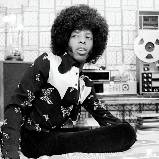 Happy 75th birthday to the sensational Sly Stone!
