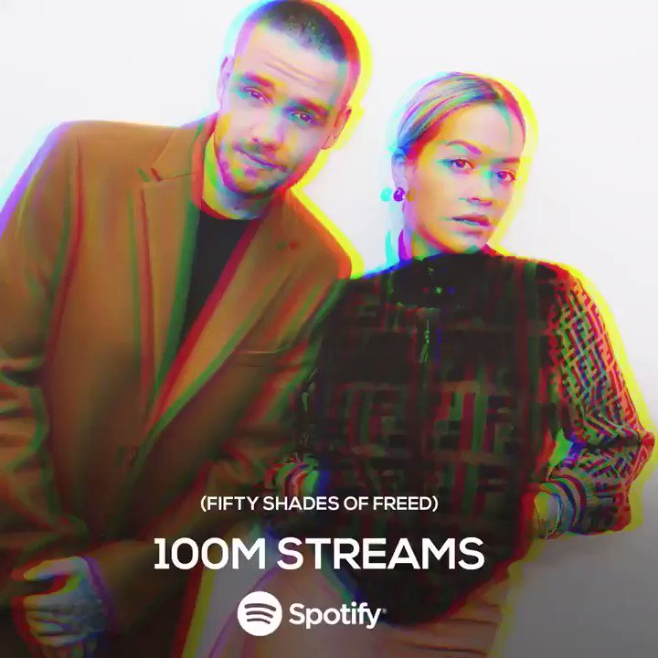 RT @LiamPayne: #ForYou has hit 100 million streams on @Spotify ???? Thank you everyone who's been streaming! @RitaOra ???? https://t.co/TOKERUmmE6