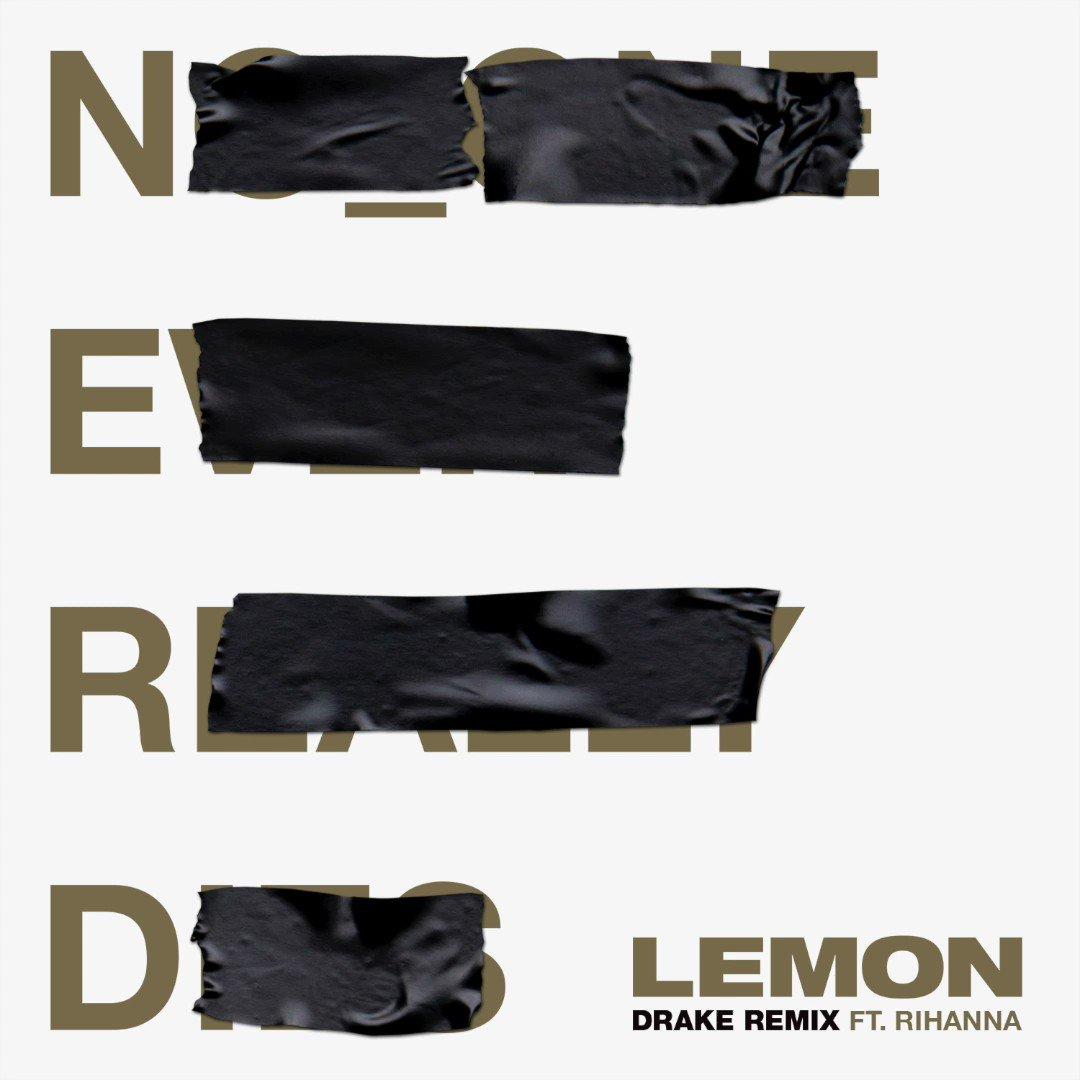 LEMON @Drake Remix ???? OUT NOW!! @NERDarmy https://t.co/JeSPbu5M7j https://t.co/rRuSCMCD9x