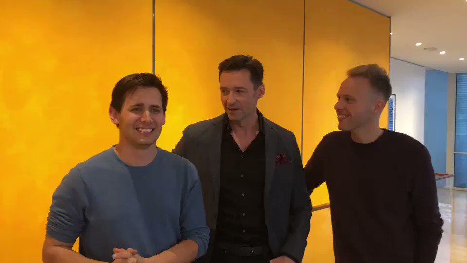 Take #2 promo video for today's digital release of @GreatestShowman @pasekandpaul https://t.co/5dnXfAbjTV