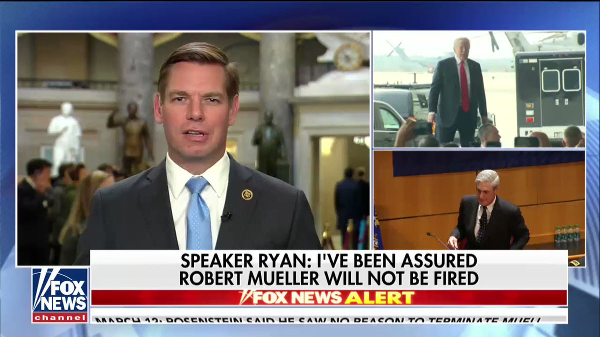 ".@RepSwalwell: ""We should act immediately to preserve Bob Mueller's role."" https://t.co/pfJtzoMCpg"