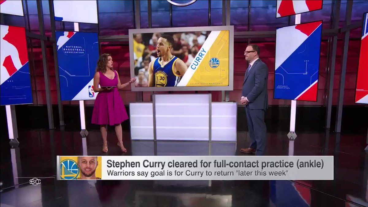 .@wojespn gives us an update on Kyrie Irving's sore left knee. https://t.co/rwIKf2as4y