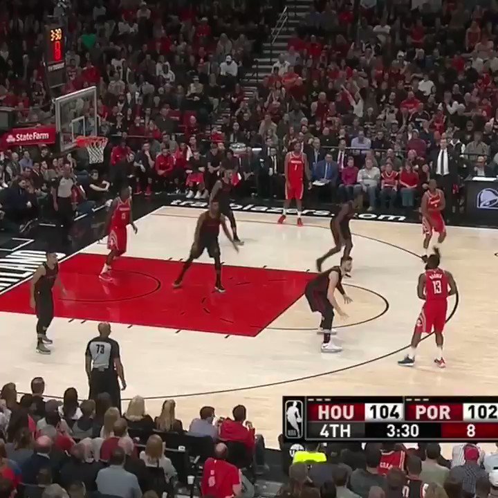 Harden took over down the stretch. �� https://t.co/NMD6IVe5YM