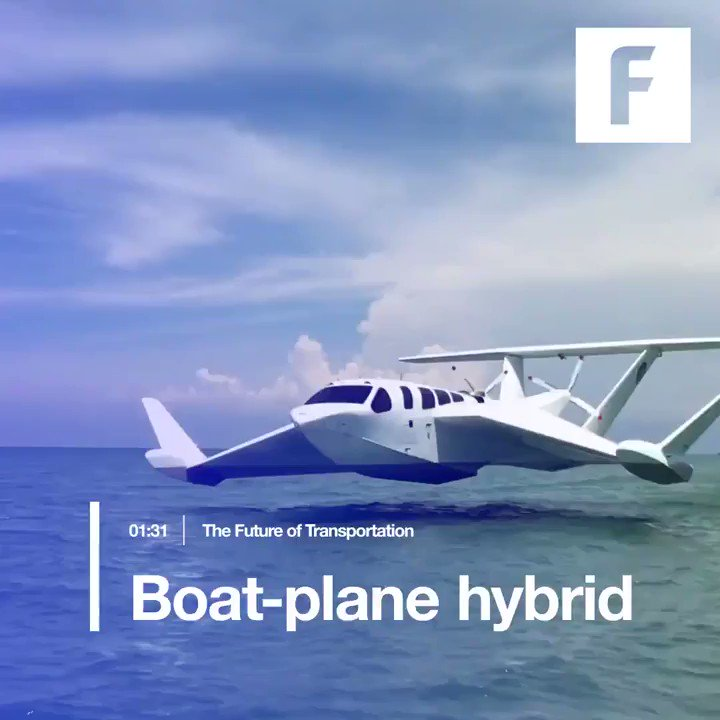 Is it a bird or a plane? Boat-plane #hybrid combines land, sea, and air vehicles. @MikeQuindazzi #aerospace https://t.co/U3FViGzjrT