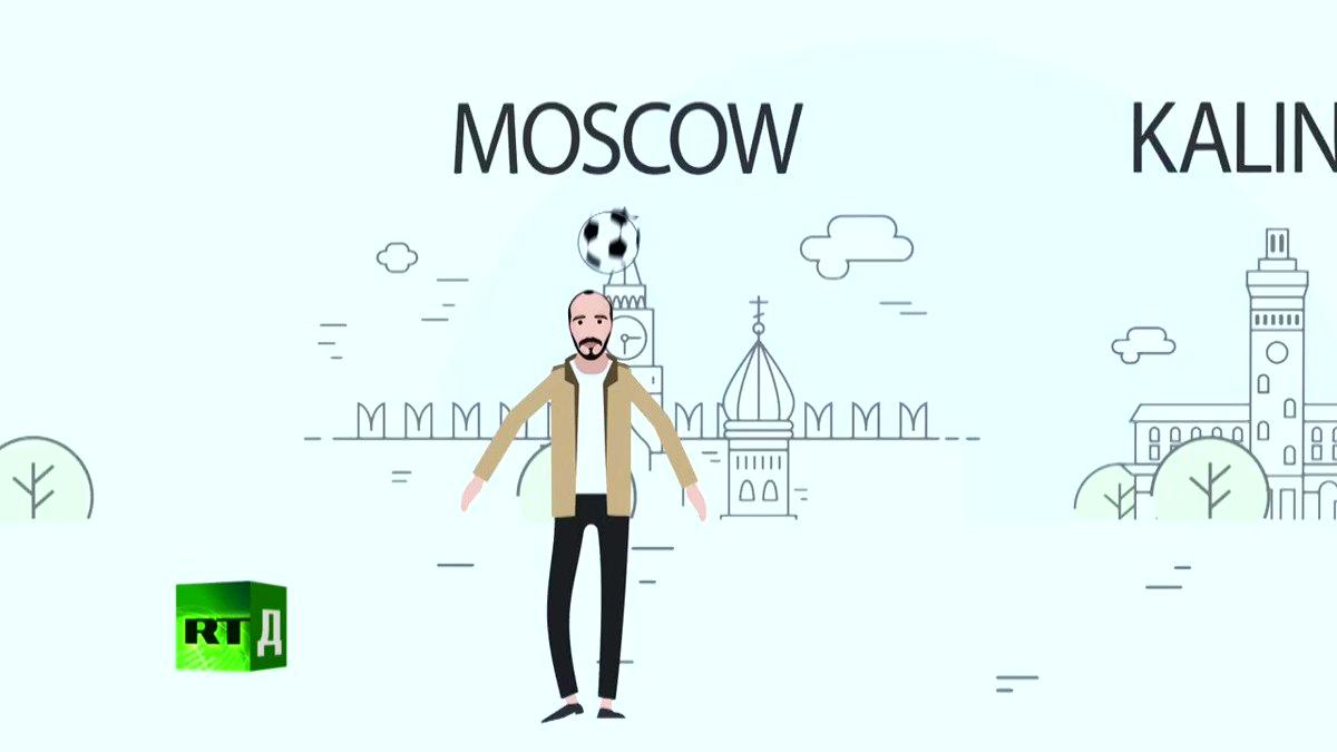 WorldCupFever: Explore Russia's 2018 World Cup venues (Trailer) Premiere