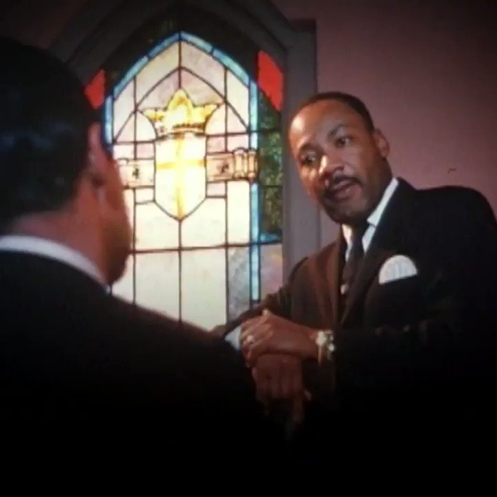 RT @ShadowLeagueTSL: Stop what you're doing and watch this clip from a Martin Luther King Jr. interview. https://t.co/kox0ddsE31