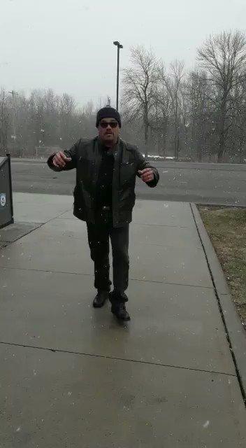 Apure en la nieve!! https://t.co/gqgh1E0rVe