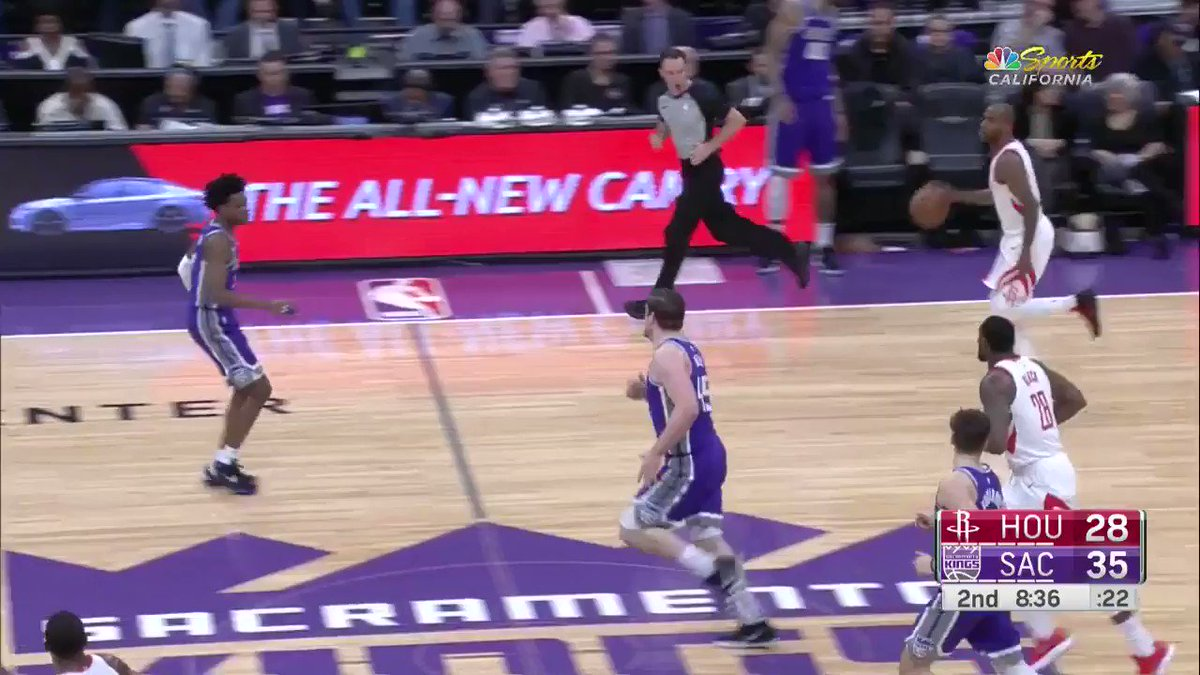 5 straight points for the newcomer Aaron Jackson! https://t.co/D5YZTVHSv3