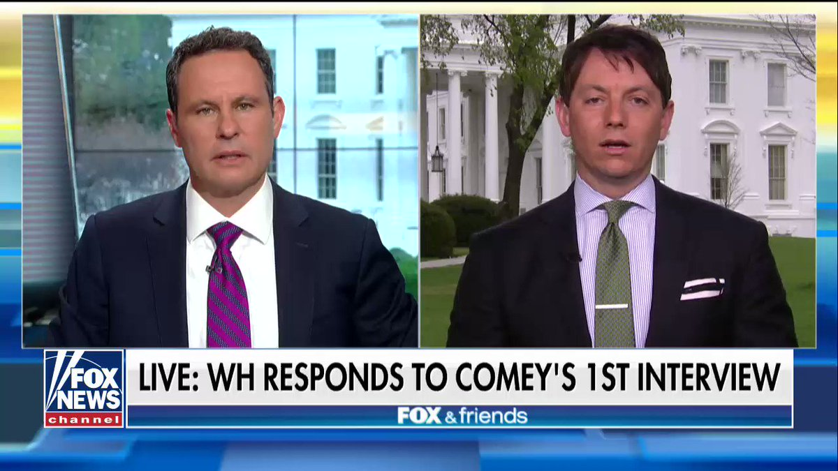 ".@hogangidley45: ""James Comey is a disgraced, disgruntled, discredited individual."" https://t.co/nFzeDXmGSa"