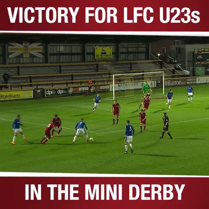 �� Our report on #LFCU23s crucial mini-derby victory ➡️ https://t.co/al7tPkvemJ https://t.co/yUS5F8xgIS