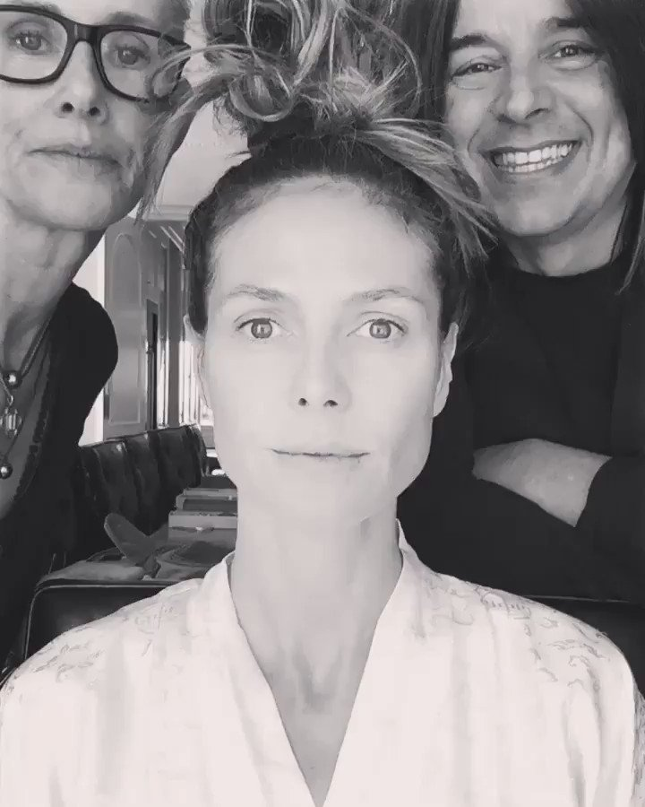 Here we go again ....  with @lindahaymakeup  and @hairbylorenzomartin https://t.co/53Srciyx8Q
