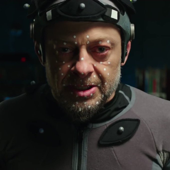 Happy birthday to the incredible Andy Serkis!