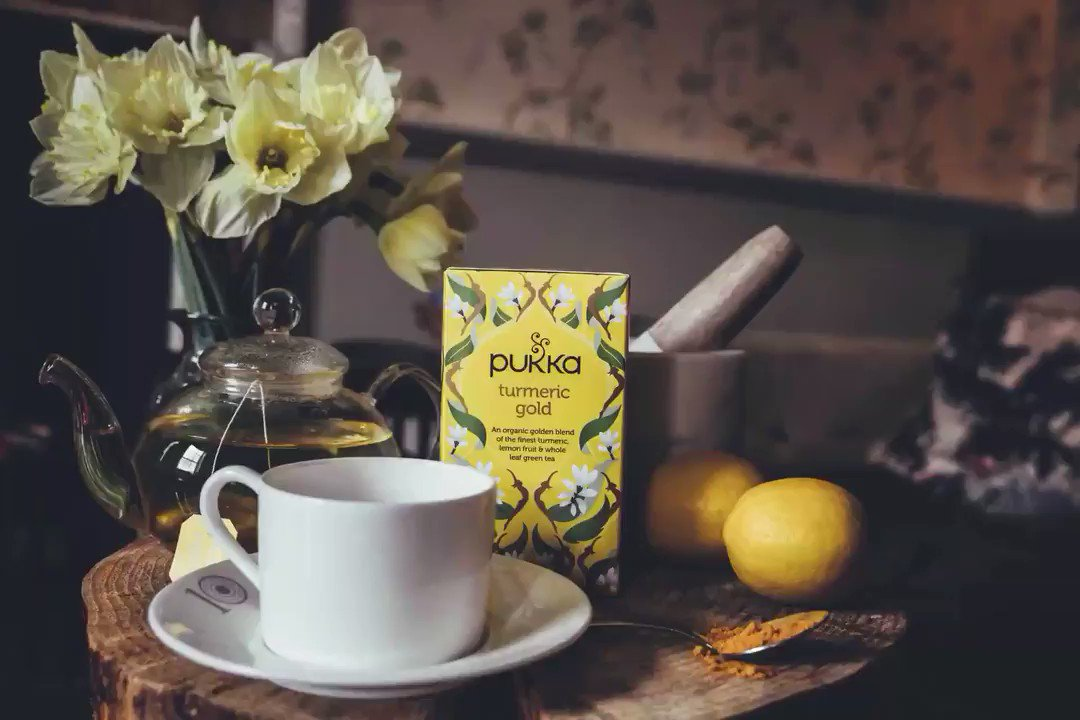 Just brew it! Let your 💛 glow with a cup of #Turmeric Gold from @Pukkaherbs tea this #NationalTeaDay! 🍵 https://t.co/uHZoFvCFU8