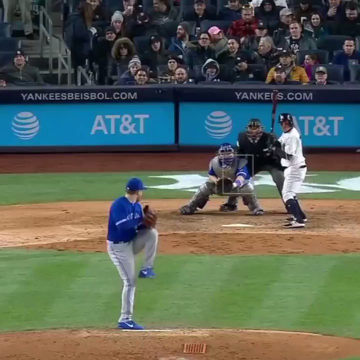 Did ... did he just throw his bat at the ball? �� https://t.co/pBmggqL1C3