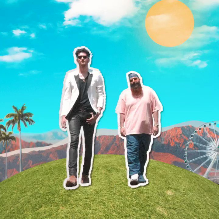Come alive with @Chromeo https://t.co/YlUUV7xLLi
