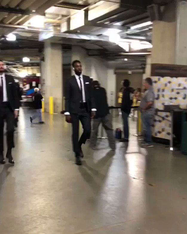 Cavs are rocking matching suit cavs