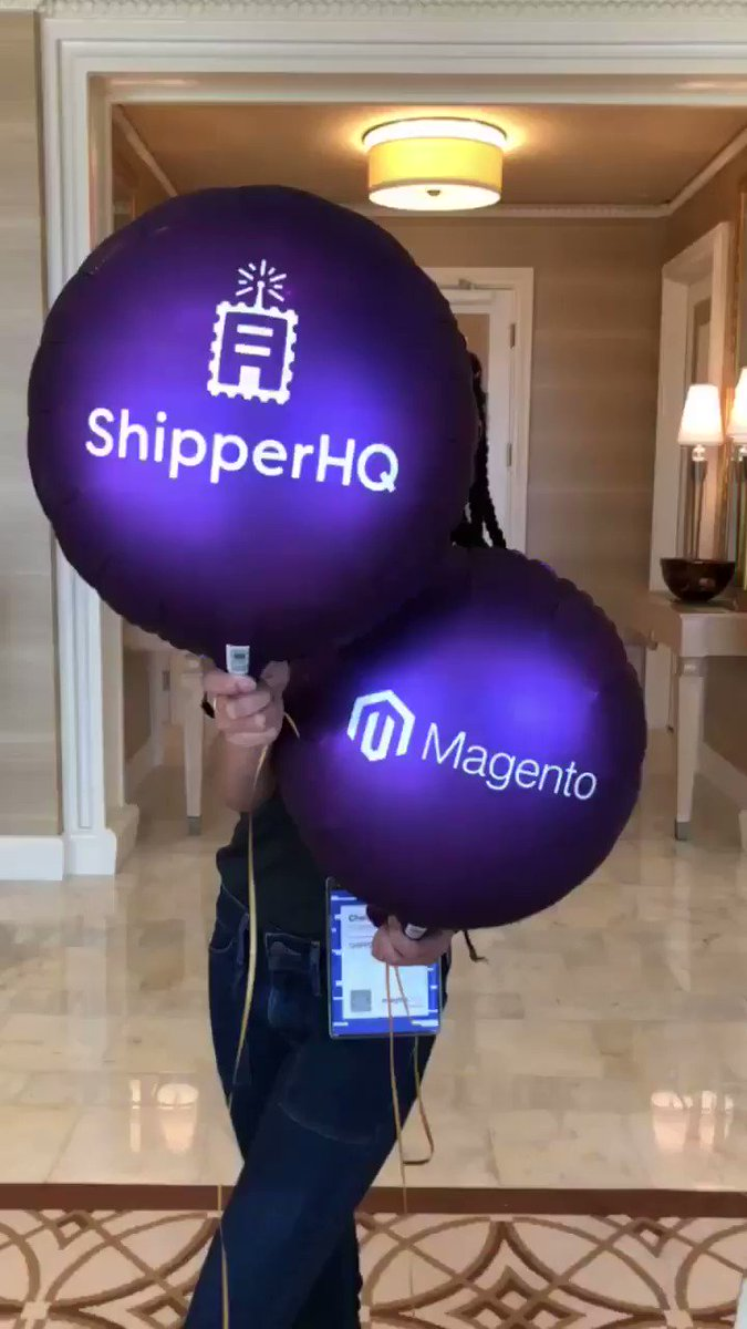 ShipperHQ: Psyched for #PreImagine. Doors open in 15 min!! https://t.co/zYTB4QZsDZ