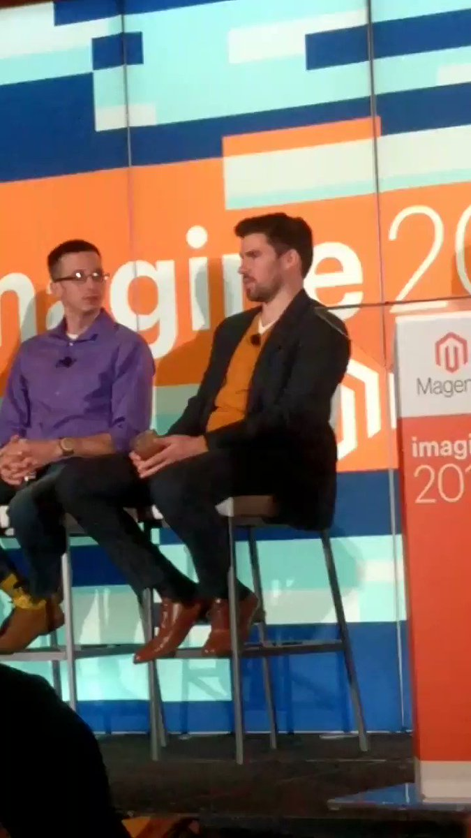 kalenjordan: B2B module - customization needs for more complex businesses @Falkowski #MagentoImagine https://t.co/Wp3rLmoXRC