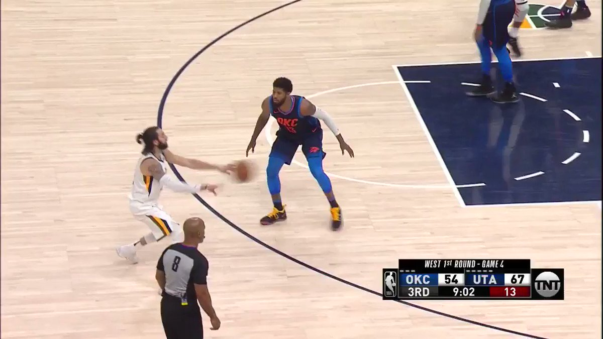 Mitchell weaving and hitting the and-1!  #TakeNote #NBAPlayoffs https://t.co/ZfmJxxMuUj