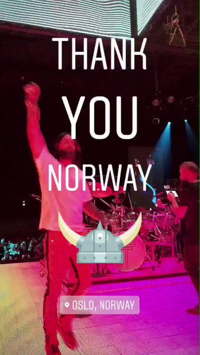 ????????NORWAY ???????? you rocked! https://t.co/6NbnwXW5I3