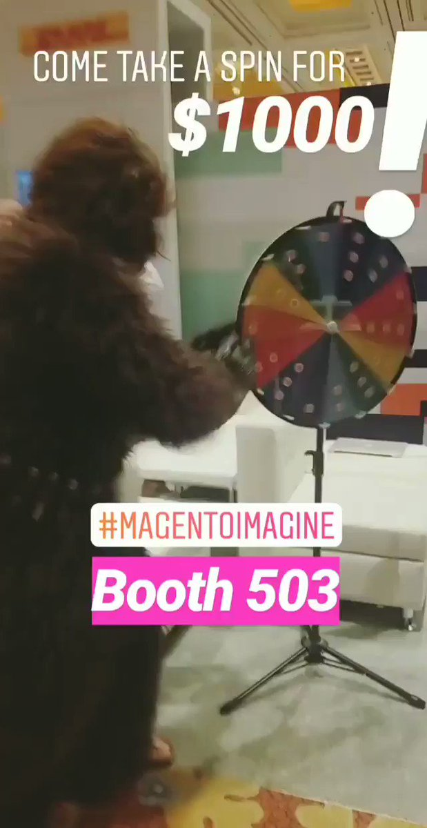 panderasystems: At #MagentoImagine? Come take a spin at BOOTH 503 to win $1000!! May the digital force be with you. @magento https://t.co/pBkyU3Wf4m