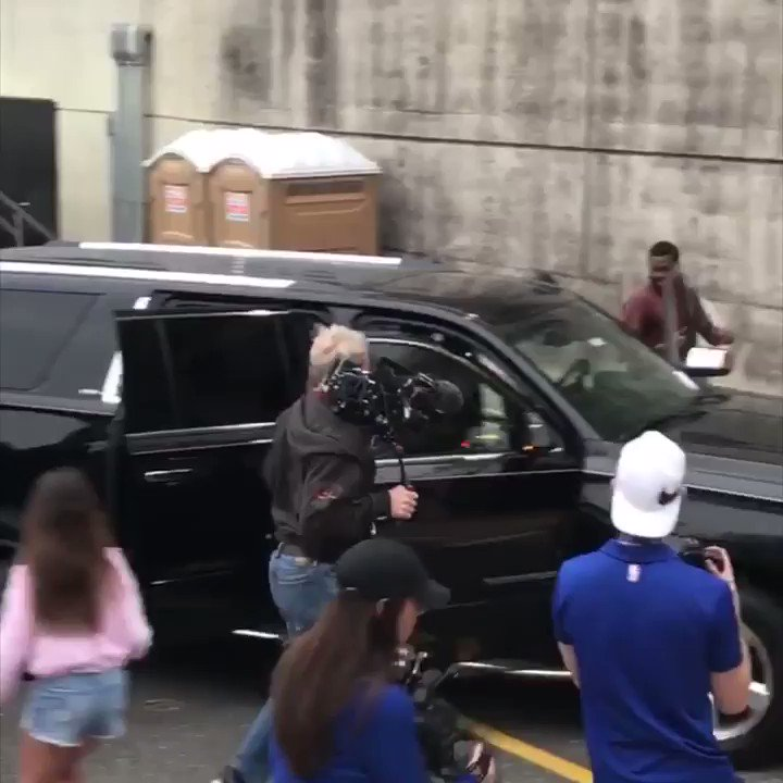 Meek Mill is in the building for Game 5. https://t.co/m8oH7j1BwX