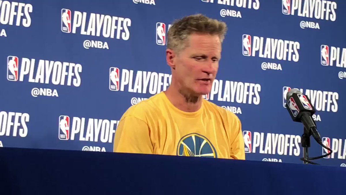 Steve Kerr w a Stephen Curry u weekend update