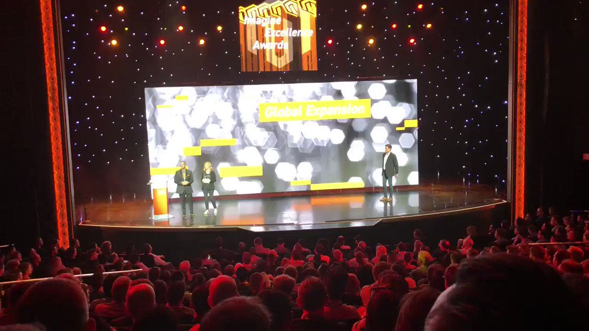 jaalcant: Best Global Expansion Award @interactiv4 #magentoimagine yeah!!! https://t.co/vuZQSG8deS