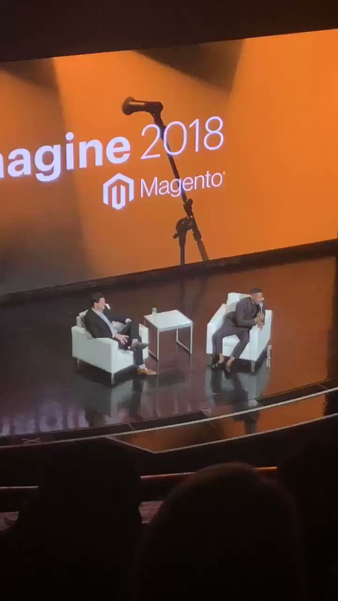AmandaF_Batista: AND he A/B tests comedy? What a guy, this Jamie Foxx! #magentoimagine https://t.co/SzGY04R67j