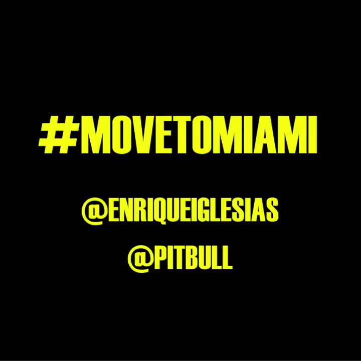 #MOVETOMIAMI @pitbull https://t.co/HAztK3B8I8