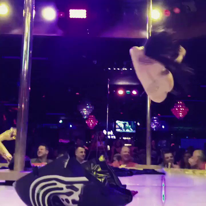 Last week's Star Wars inspired feature performance at Hustler is one of my favorite things I've ever