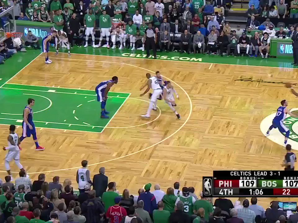 ��Game-tying putback �� Forces turnover ��Assist on go-ahead basket ��Game-sealing steal  Marcus Smart, always there. https://t.co/8TSVX3DpK6