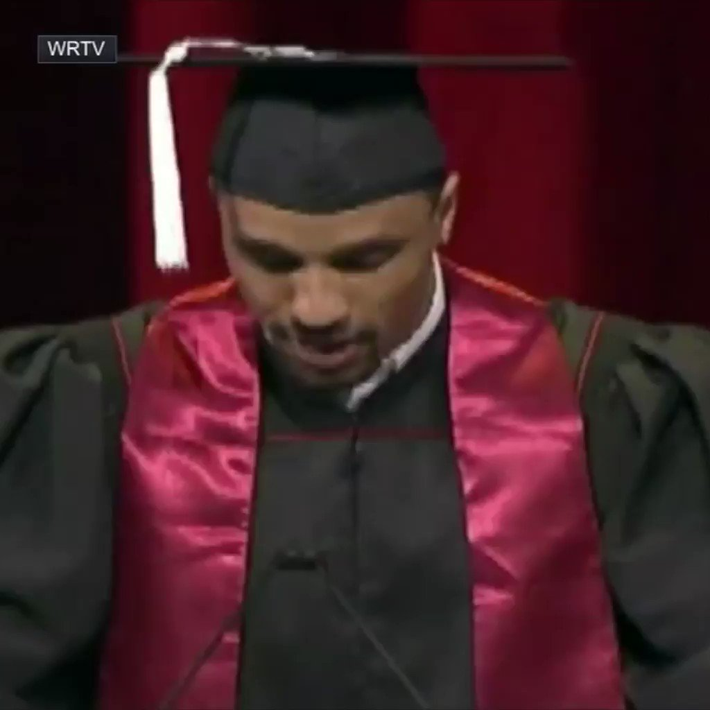 George Hill wasn't going to miss his graduation for anything.  Not even the Eastern Conference Finals. https://t.co/QD66Hm6dFt