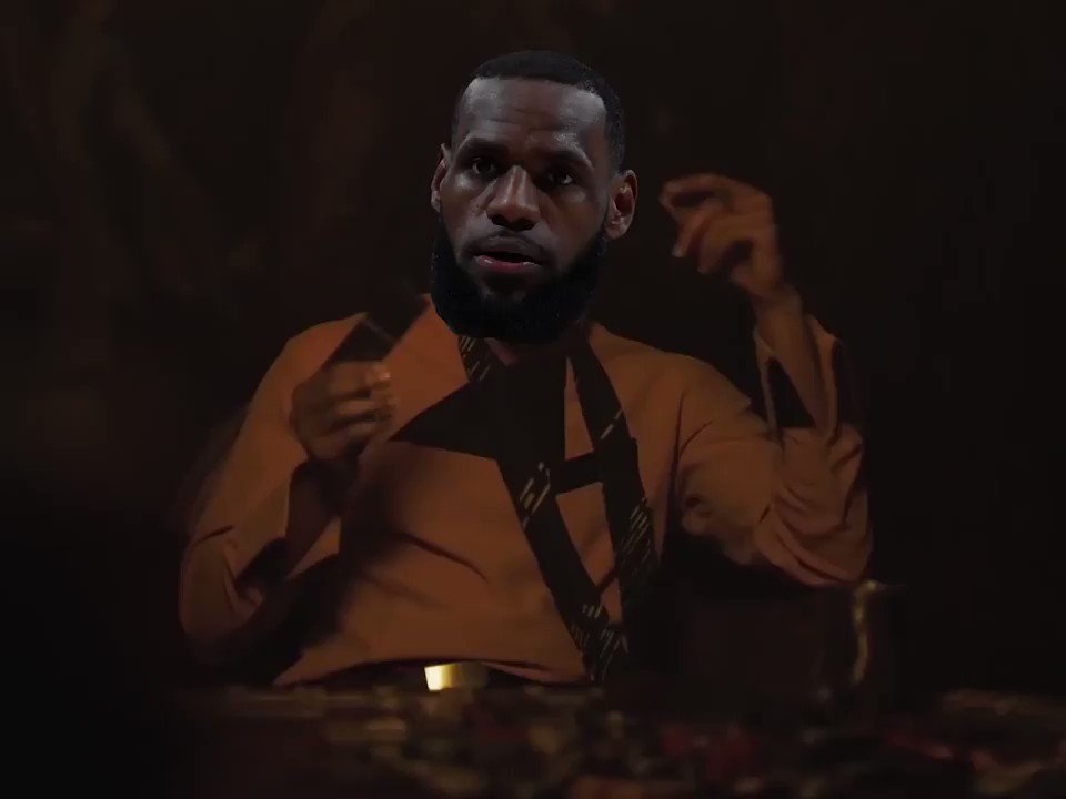 Everything you've heard about LeBrondo Calrissian ... is true. https://t.co/UFKibETdoh