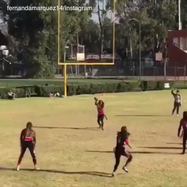 She dropped 3 people in the same touchdown run �� #SCtop10 https://t.co/X0cNFer31i