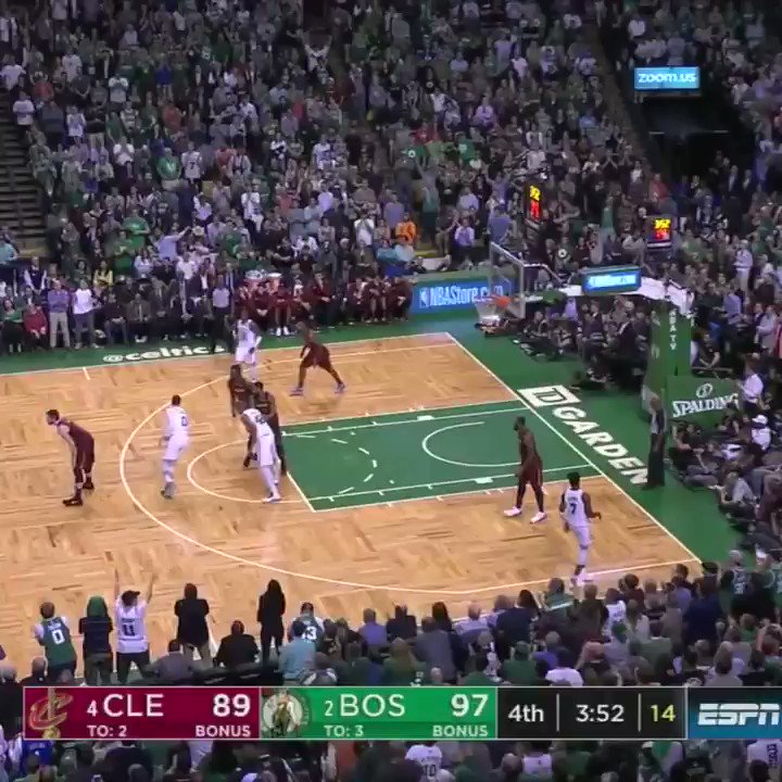 Marcus Smart had Al Horford's back. �� https://t.co/Q18NctWeSD