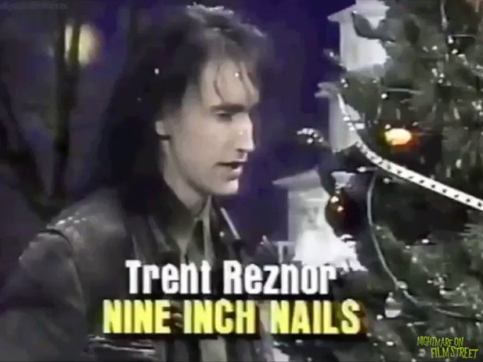 Happy 53rd Birthday to industrial rocker Trent Reznor, pictured here being cooler than Christmas