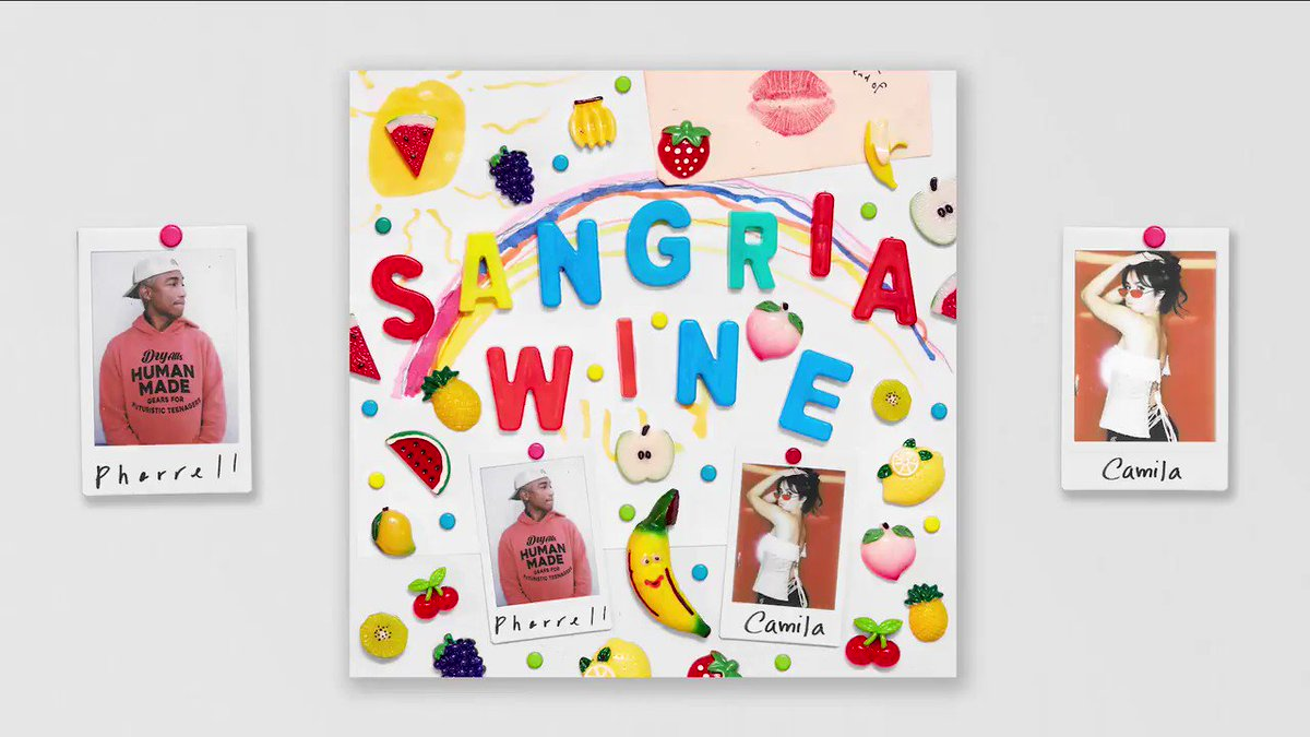 #SangriaWine out now @Camila_Cabello https://t.co/G9C6fHUf1d ???????????? https://t.co/SYHwbVkIcE
