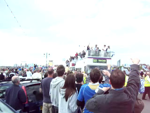 #OTD 2008: 🏆 Typical, wait for a bus for ages, then 3 come at once! #Pompey #PompeyHistory https://t.co/hTGxFGxF5j