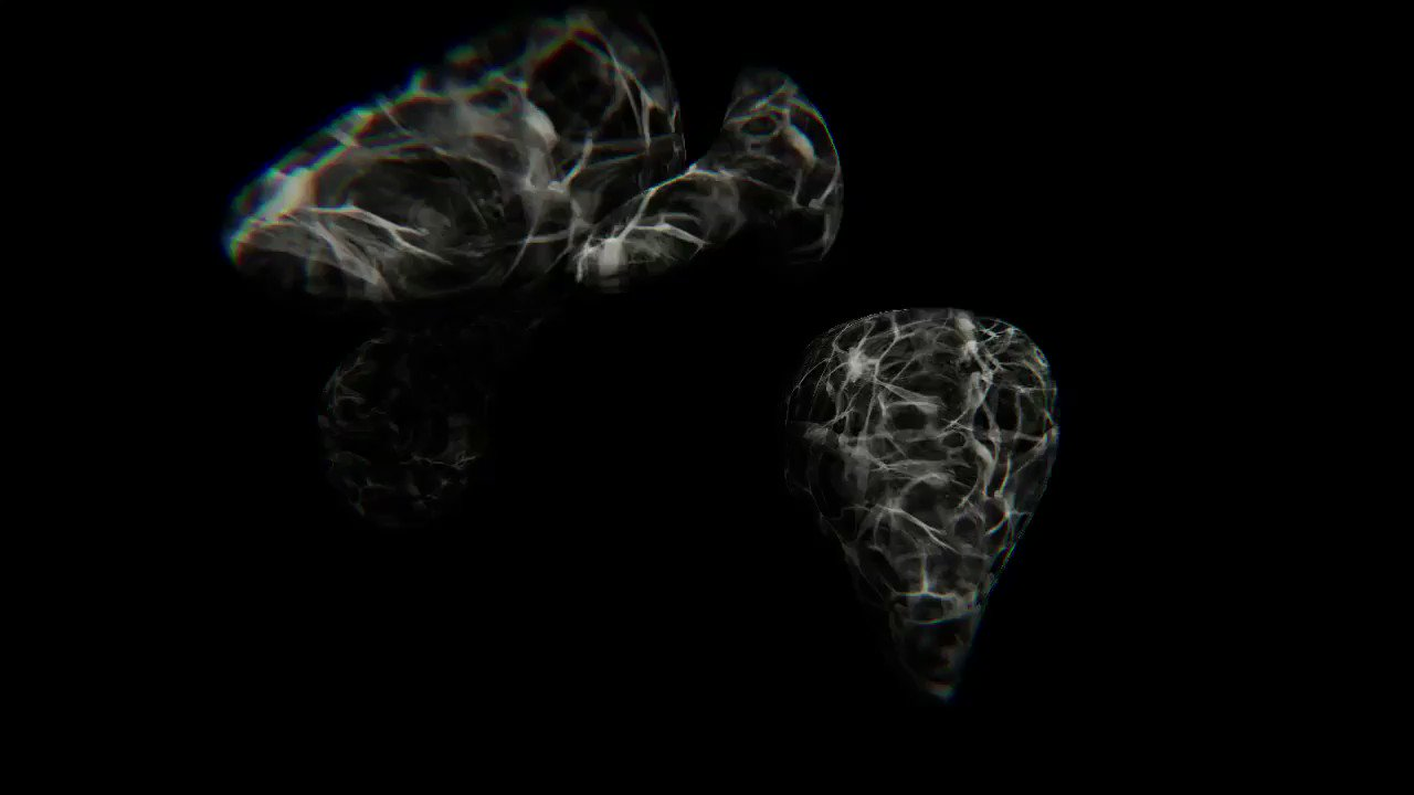 //amoeba.av studio experiments 03 UNITY.RAYMARCHED.DUB.ITERATIONS_VERSION.03: Liquid Monolith Forms https://t.co/bWlxm3XTVX