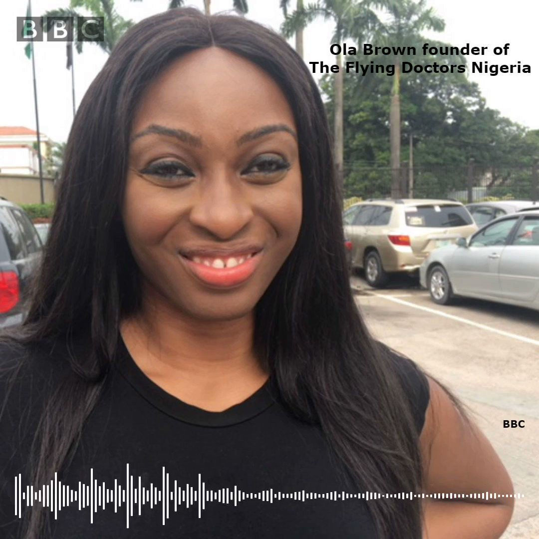 Meet Ola Brown  the doctor who nigeria