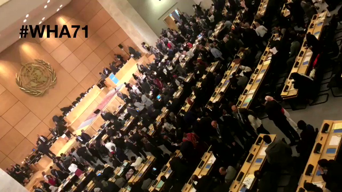 The 71st World Health Assembly