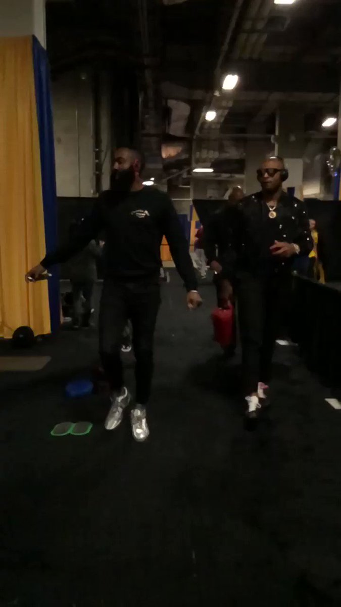 James & P.J. are in the building. #Rockets https://t.co/oybeDGBE8V