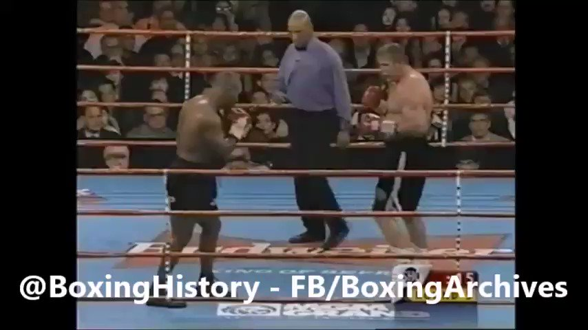 2 MINUTES OF MAYHEM - Here's a clip of nothing but @MikeTyson knocking opponents flat #boxing #history https://t.co/vHsgh2KzyC