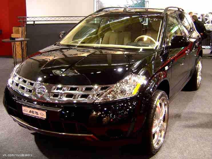 Nissan Murano Инопланетный захватчик.