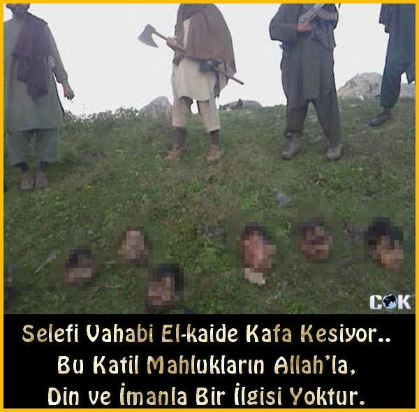 Selefi Vahabi El-kaide Kafa Kesiyor.. Bu Katil Mahlukların Allah'la, Din ve İmanla Bir İlgisi Yoktur. http://t.co/7UIveZxu